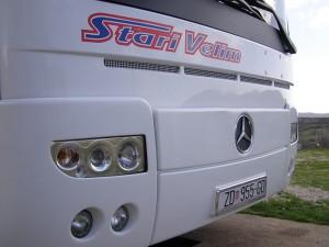 Mercedes Turismo 49+1 putnik